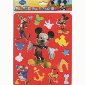 Overtrek stencil – Mickey Mouse