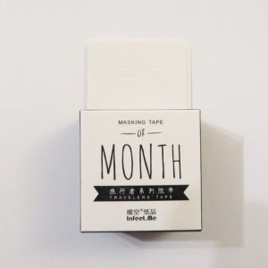 Washi tape – Maanden (Engels)