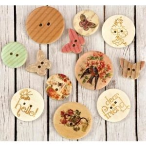 Wood Buttons – Jodie Lee Design