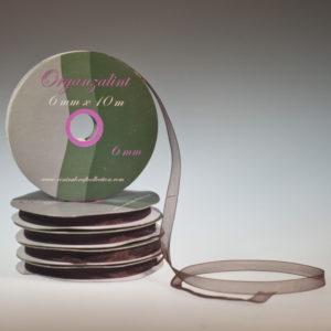 Organza lint – Bruin 6mm
