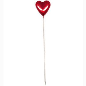 Deco Pins – Hart rood