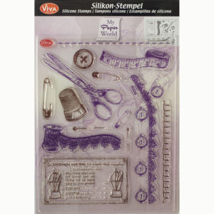 Viva Decor Clear Stamps – Tailoring