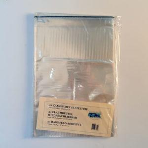 A4 Cellofaan zakjes – 100 stuks