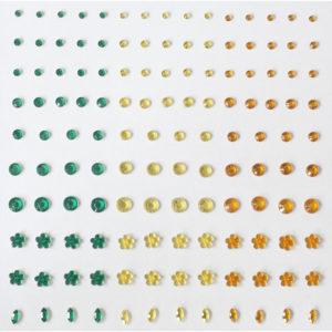 Plakstenen – Groen / Geel / Oranje