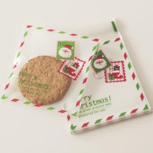 Cellofaanzakjes 10x11cm – Merry Christmas