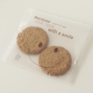 Cellofaanzakjes 13,5×13,5cm – Smile