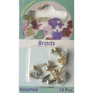 Splitpennen / Brads – Zilver en goud