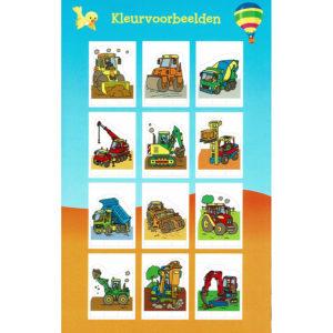 Prikblok – Werkwagen
