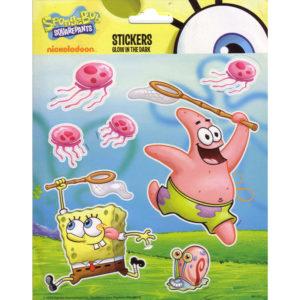 Glow in the Dark stickers – Spongebob