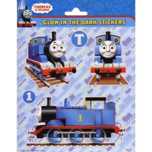 Glow in the dark stickers – Thomas de trein