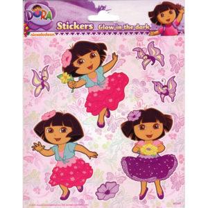 Glow in the dark stickers – Dora