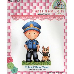 Paper Nest Dolls – Police Officer Owen